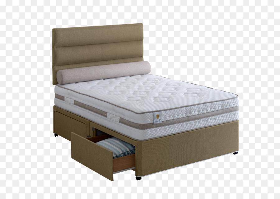 Marco de la cama Divan con somier, Colchón - cama Formatos De ...
