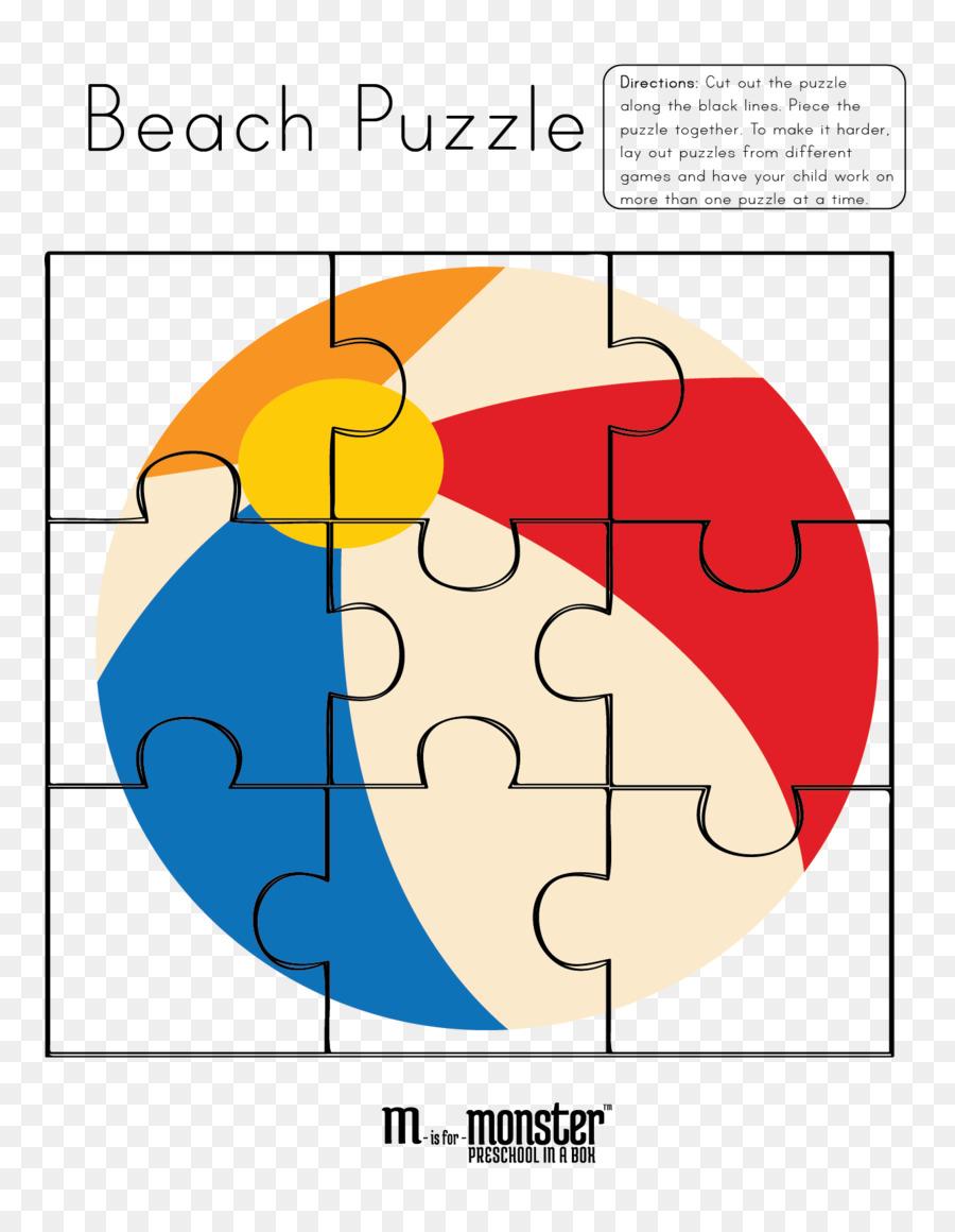 Rompecabezas libro para Colorear Crucigrama pelota de Playa - el ...