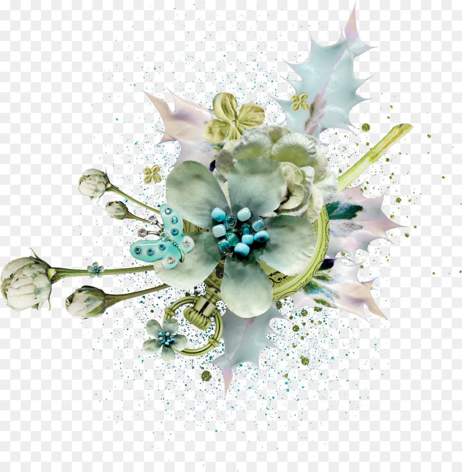 Flor de Marcos de diseño Floral - chatarra Formatos De Archivo De ...