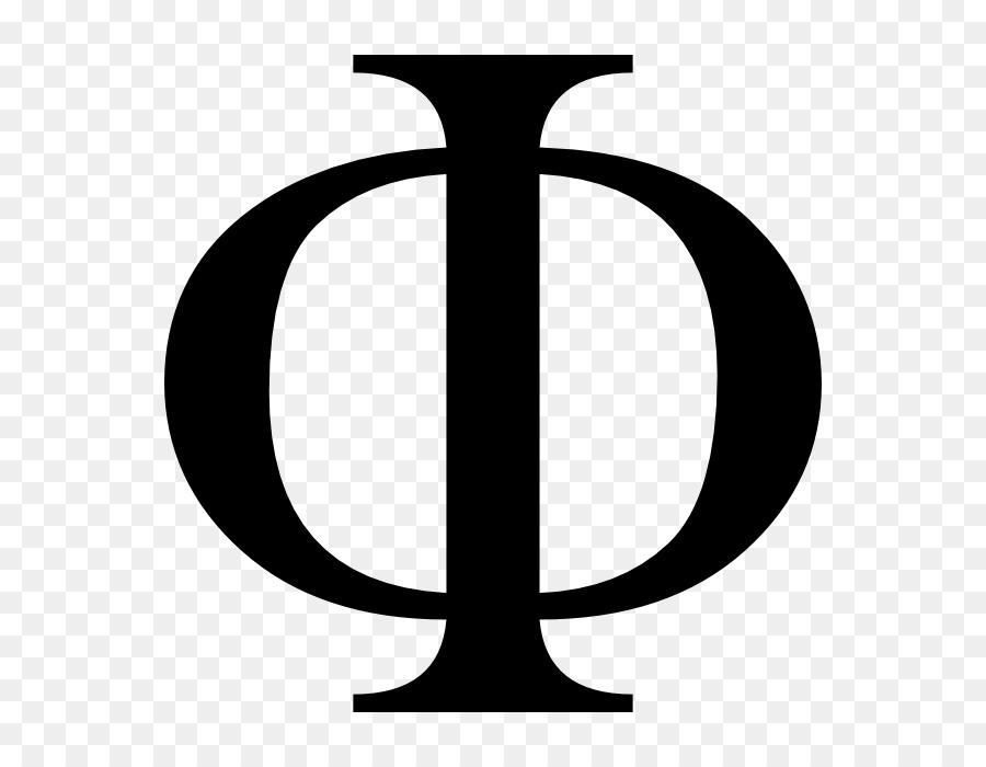 Phi Greek Alphabet Letter Beta Phi Barrier Png Download 700700