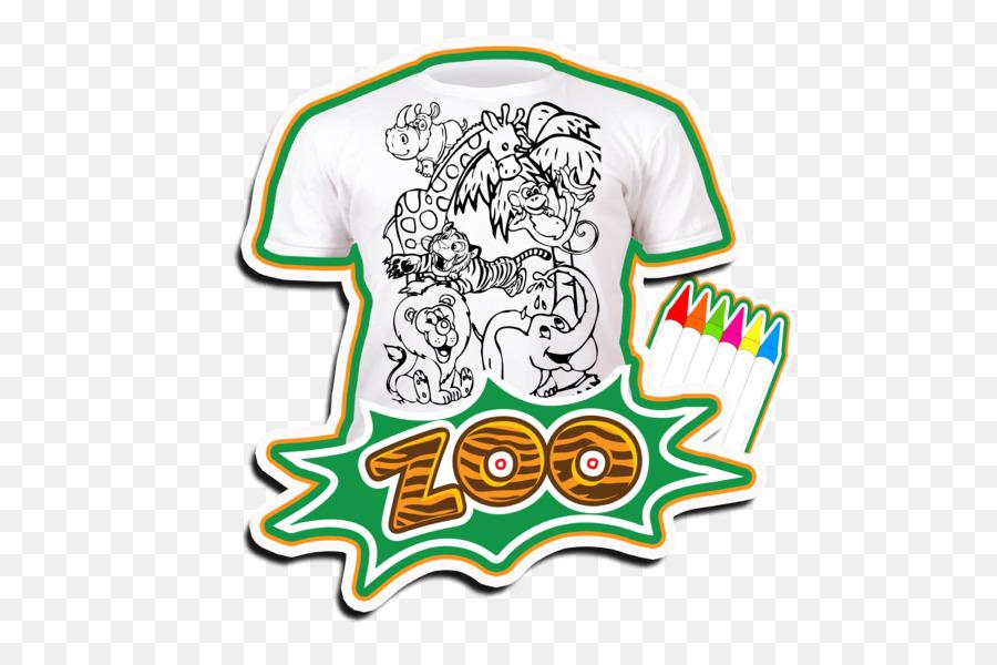T-shirt libro para Colorear de Niño Manga en Blanco - sellos océano ...