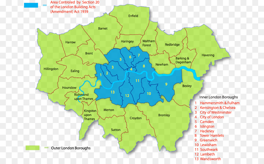Great London Map.London City Png Download 735 557 Free Transparent Inner London