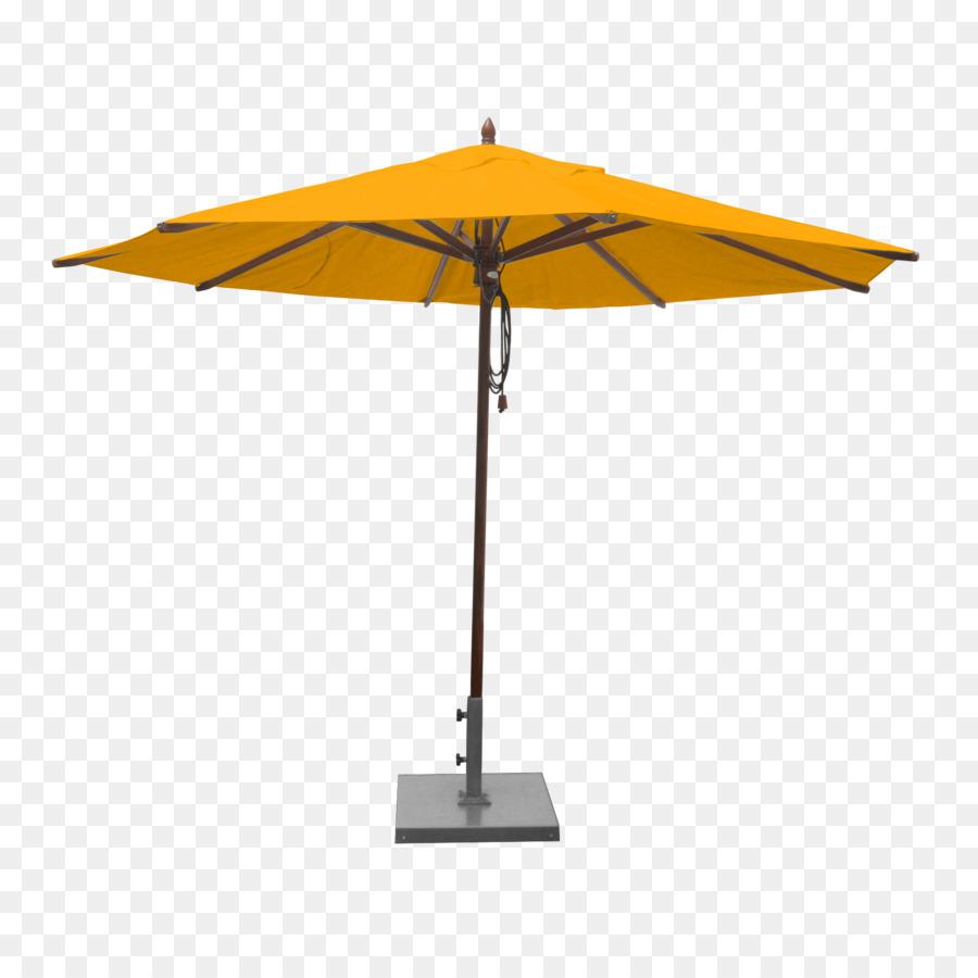 Umbrella Patio Shade Auringonvarjo Canopy Yellow Umbrella Png