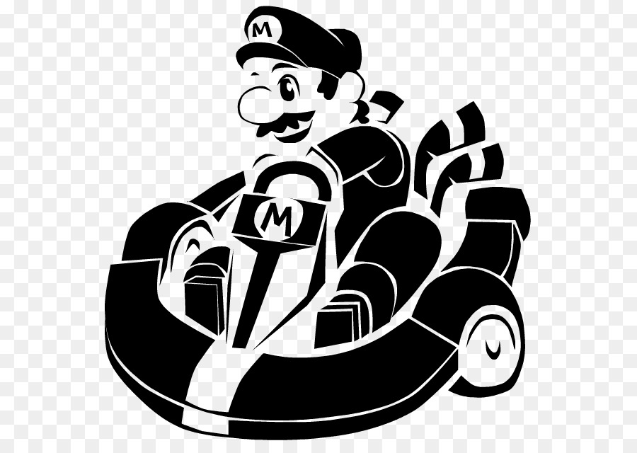 Super Mario Bros. Super Mario Kart Coloring book - great wall ...