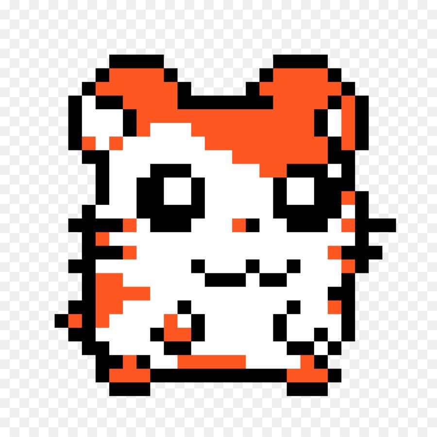 Hamster Pixel Art Minecraft Hamtaro Png Download 11841184