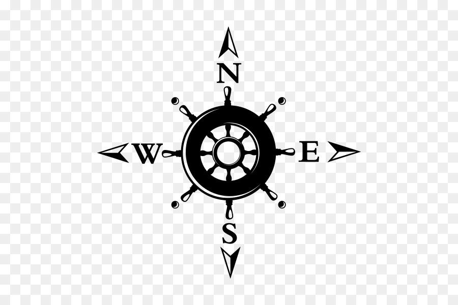 Compass Rose Throw Pillows North
