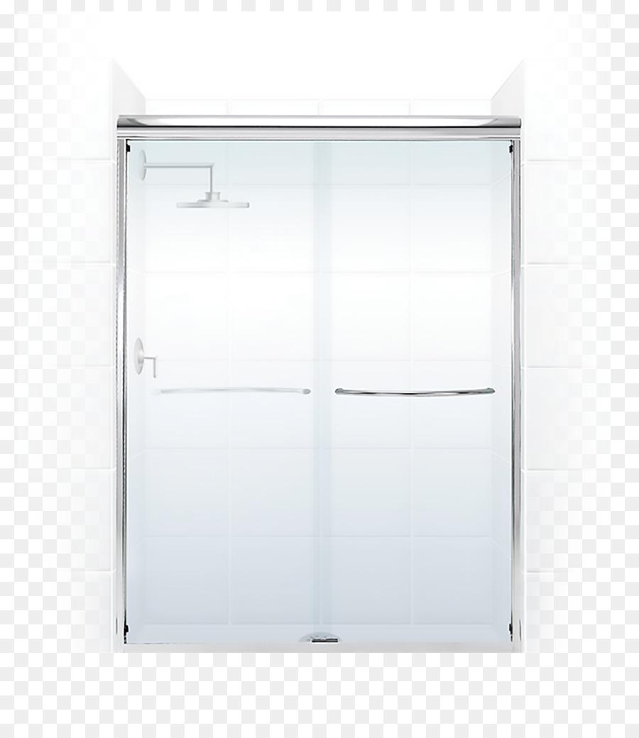 Window Sliding Glass Door Shower Frameless Png Download 9001031