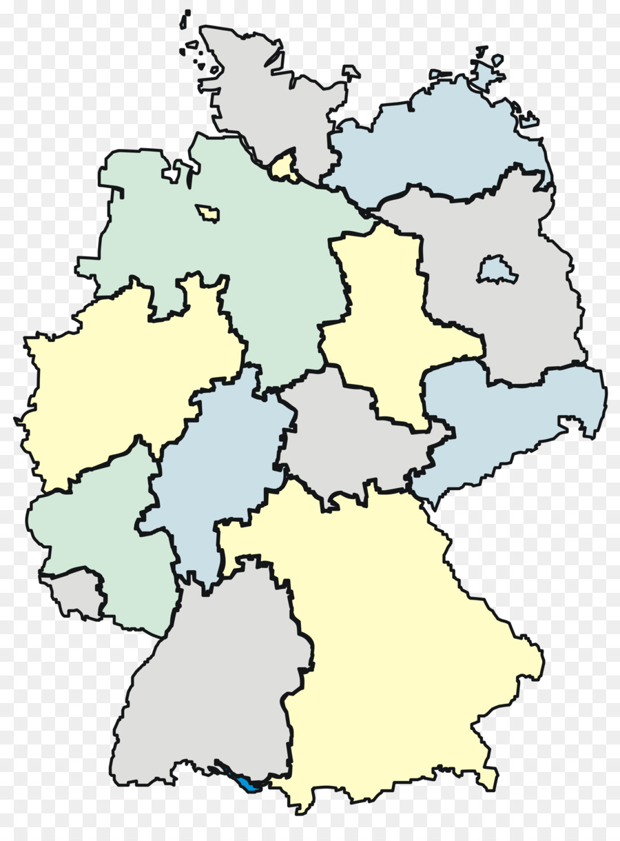 Map Of Germany Rhineland.States Of Germany Map Png Download 2000 2681 Free Transparent