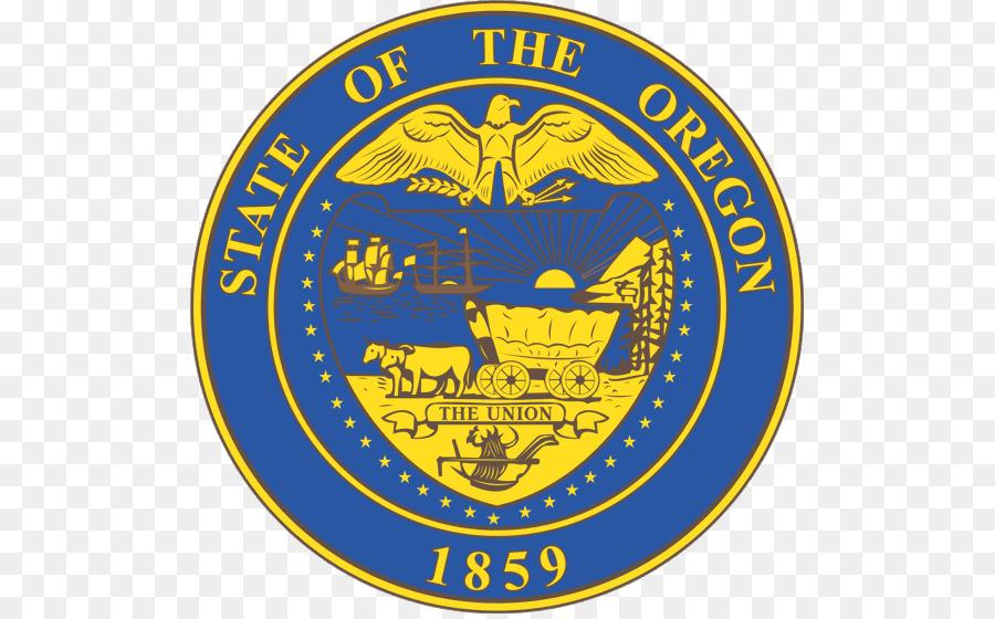 Seal Of Oregon Delaware North Dakota Small Ornaments Png Download