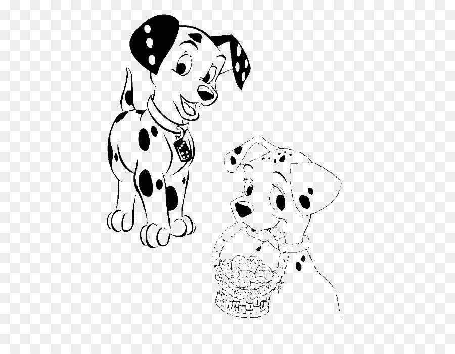 Dalmatian Anjing Mewarnai Buku Cruella De Vil Perusahaan Walt Disney