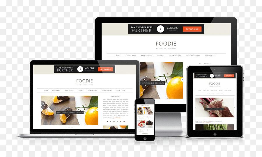 WordPress.com Tema del Blog, el diseño web Responsivo - la comida ...