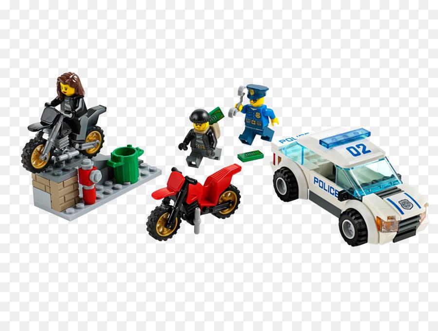 Lego Policía de la Ciudad de Lego minifigures Juguete bloque - polis ...