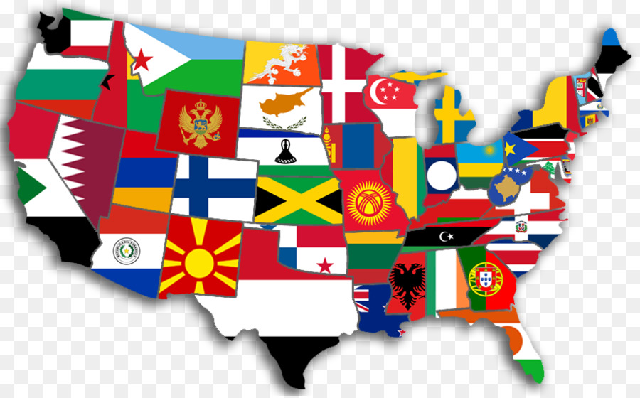 United States State Flag Vexillology Map United States Png