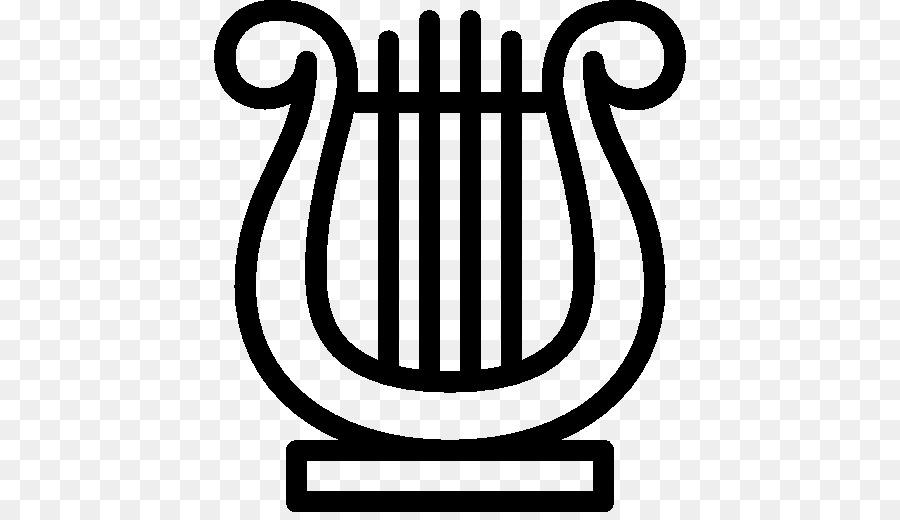 Lyre Harp Musical Instruments Musical Symbols Png Download 512