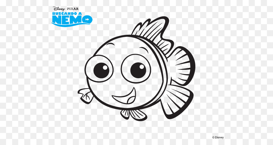 Nemo Dibujo Marlin, Dory libro para Colorear - otros 600*470 ...