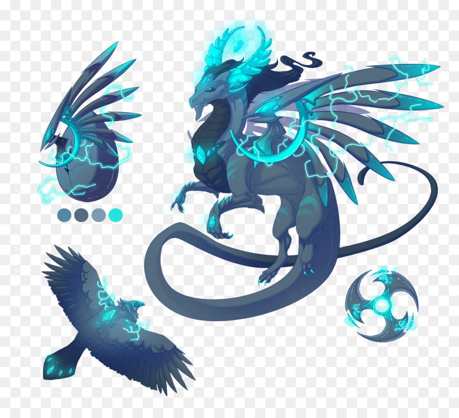 Dragon Drawing png download - 3000*2704 - Free Transparent