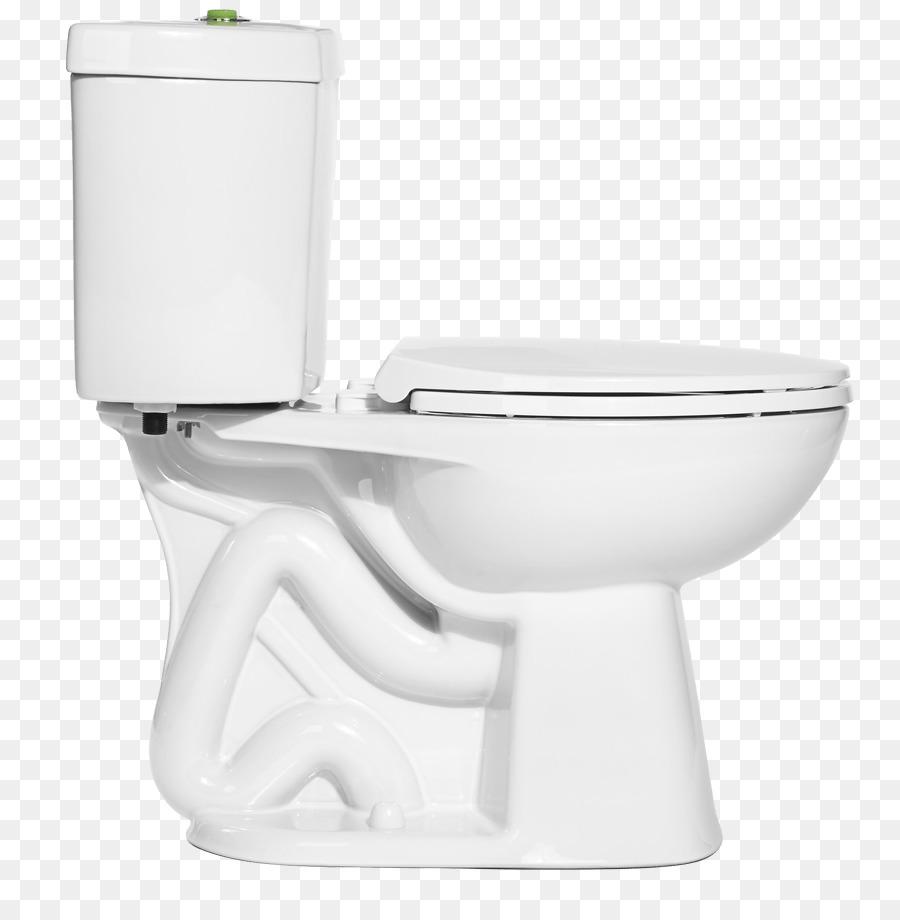 Toilet & Bidet Seats Low-flush toilet - flush toilet png download ...
