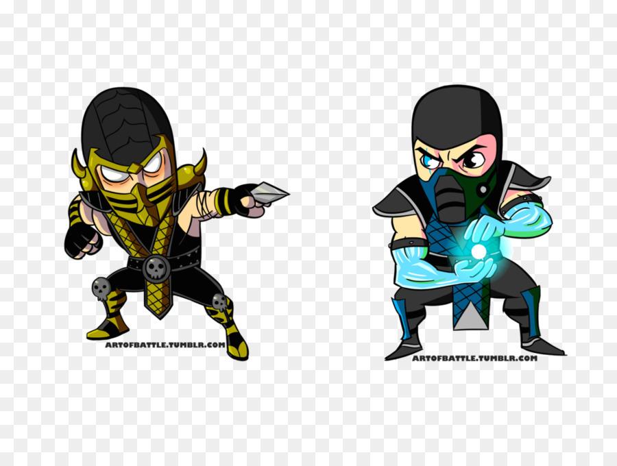 Mortal Kombat X De Mortal Kombat Mythologies: Sub-Zero, Scorpion ...