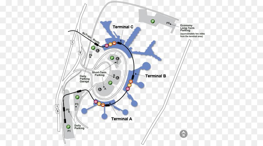 John F. Kennedy International Airport Airport terminal Cellphone lot ...