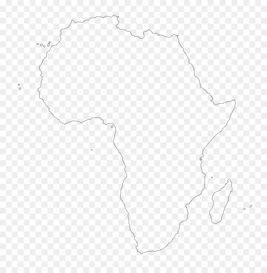 Outline Of Africa Map.Africa Map Flag Of Botswana Flag Of Cameroon Clip Art Outline Png