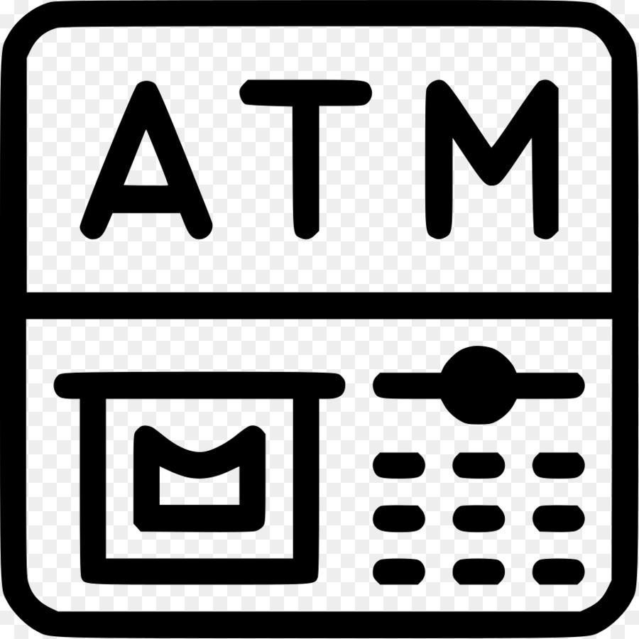 Automated Teller Machine Komputer Ikon Clip Art Atm Flashdisk