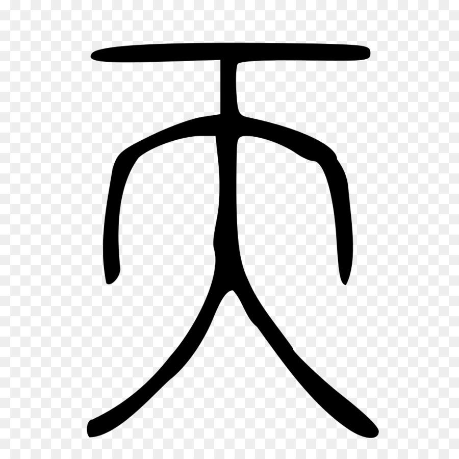 Legalism Zhou Dynasty Symbol Chinese Characters Tian Hu Yi