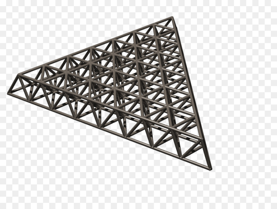 Truss Structure Space frame Tensegrity Triangle - triangle png ...