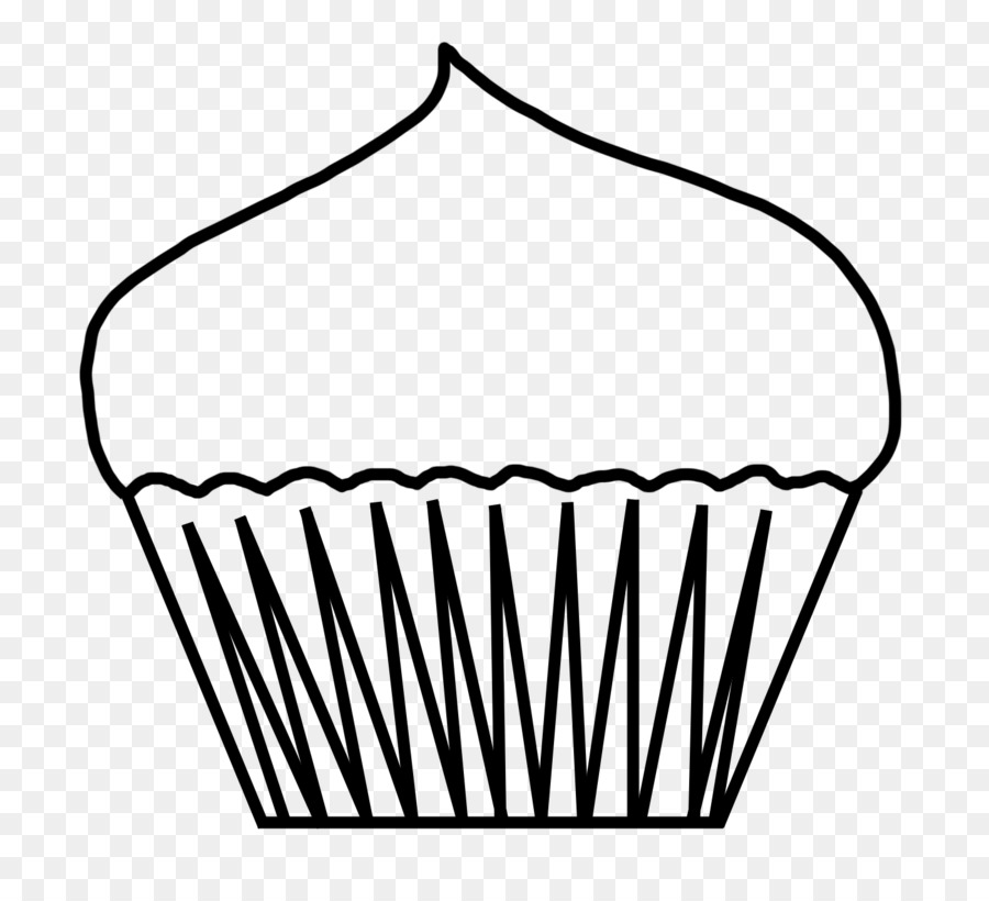 Cupcake Coloring Book Frosting Icing Birthday Cake Clip Art