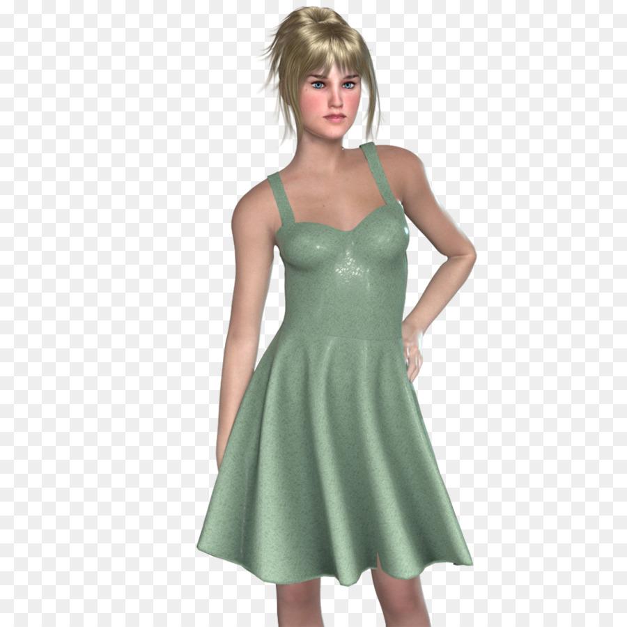 Satin Cocktail dress Shoulder - fashion summer discount png download ...