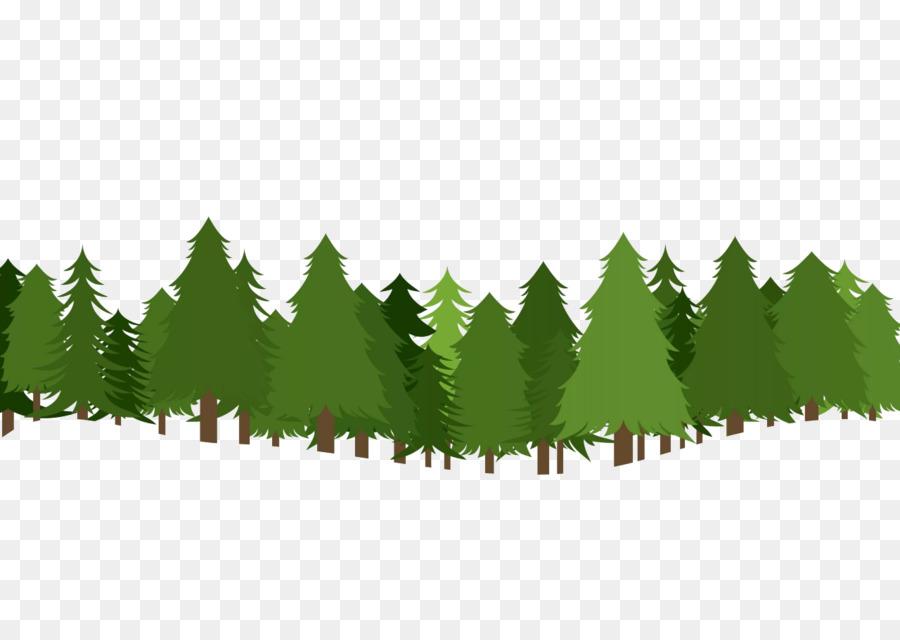 christmas tree pine clip art forest clipart png download