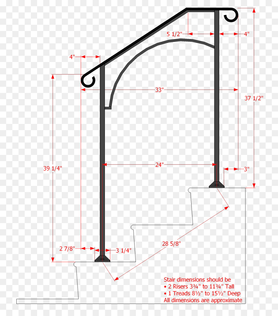 handrail stairs wrought iron stair riser building materials arch rh kisspng com