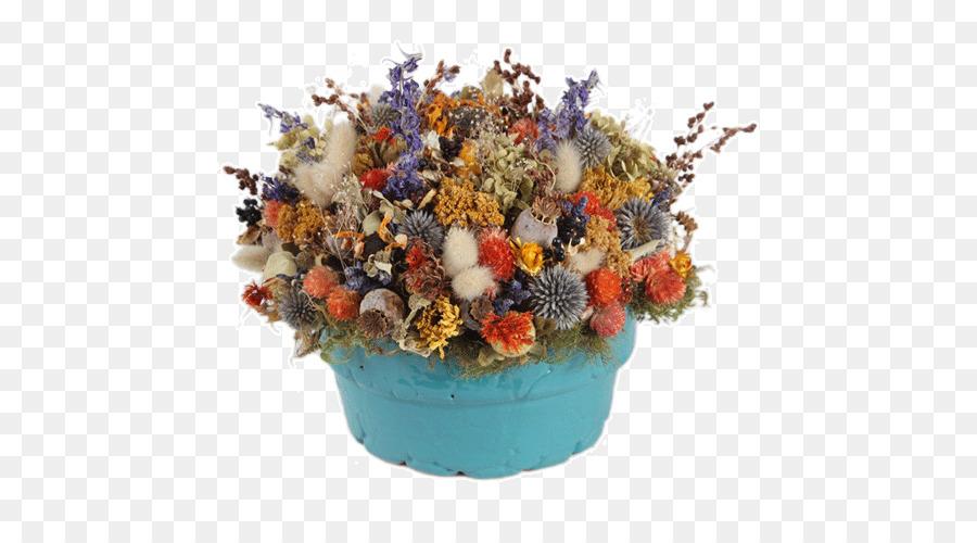 Floral design Flowerpot Cut flowers Ceramic - dried flowers png ...
