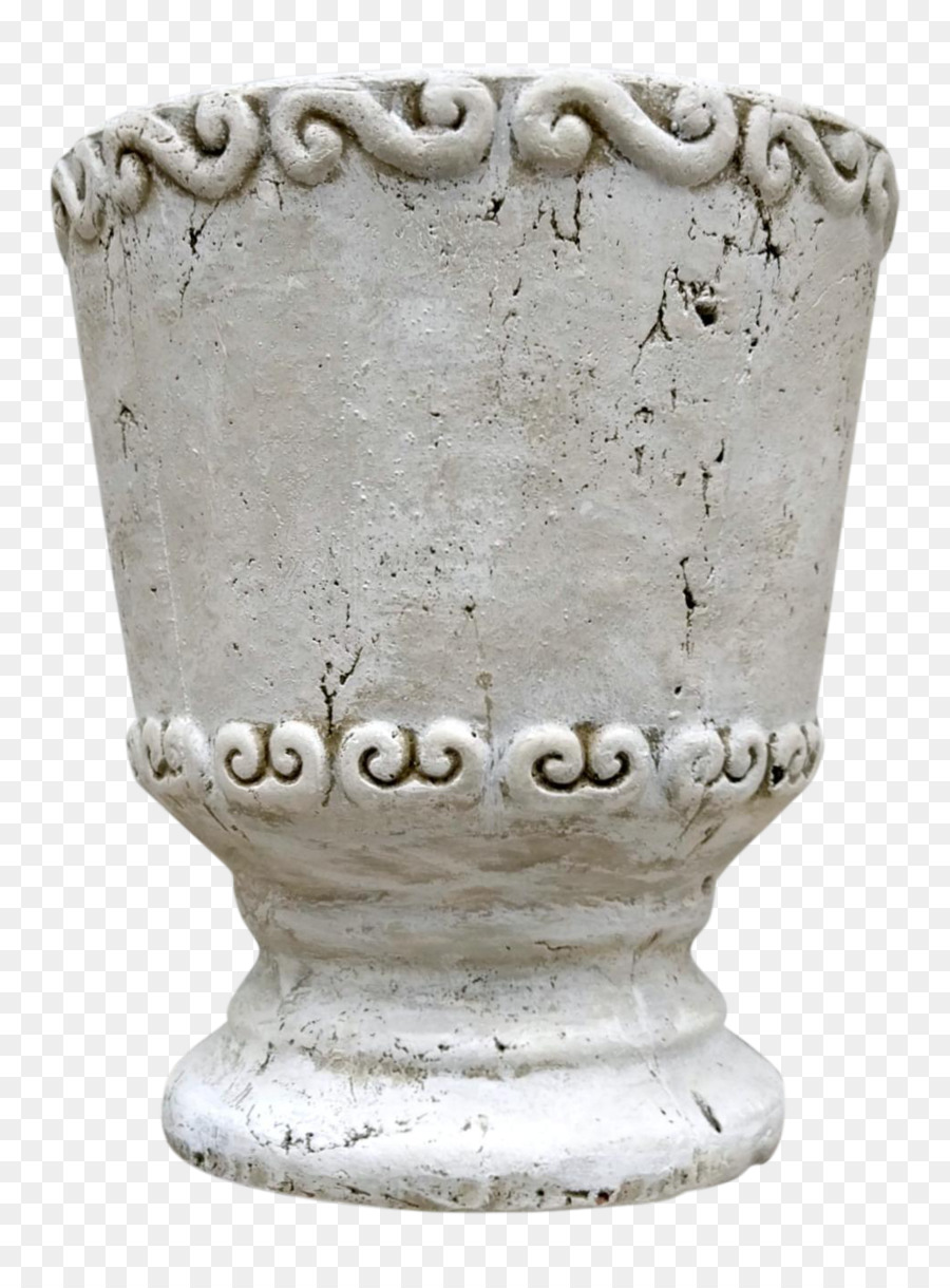 Ukiran Batu Vas Guci Unduh Pot Bunga
