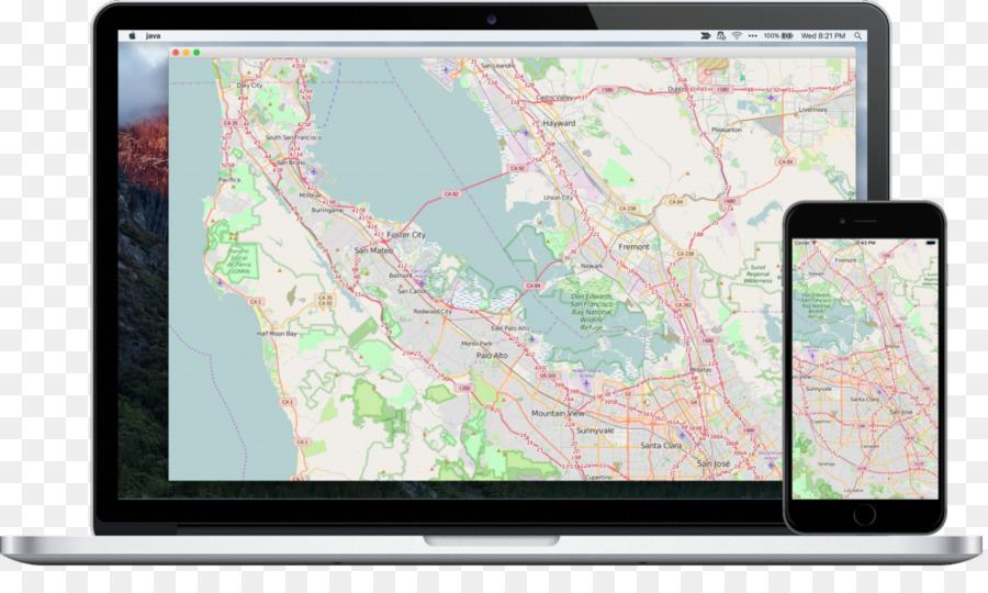 JavaFX Gluon Application programming interface Map - map refinement