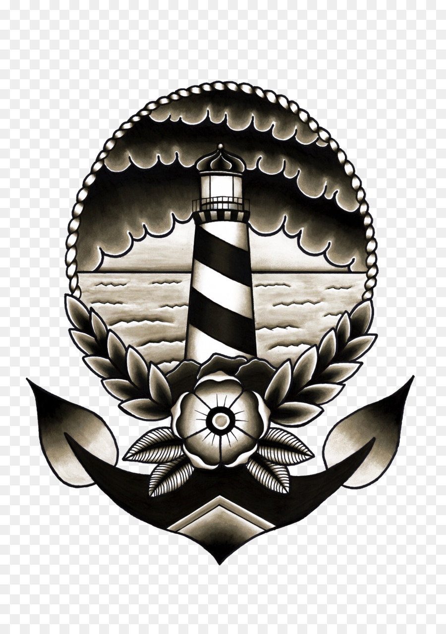 Old school (tattoo) Flash Sailor tattoos Lighthouse ...