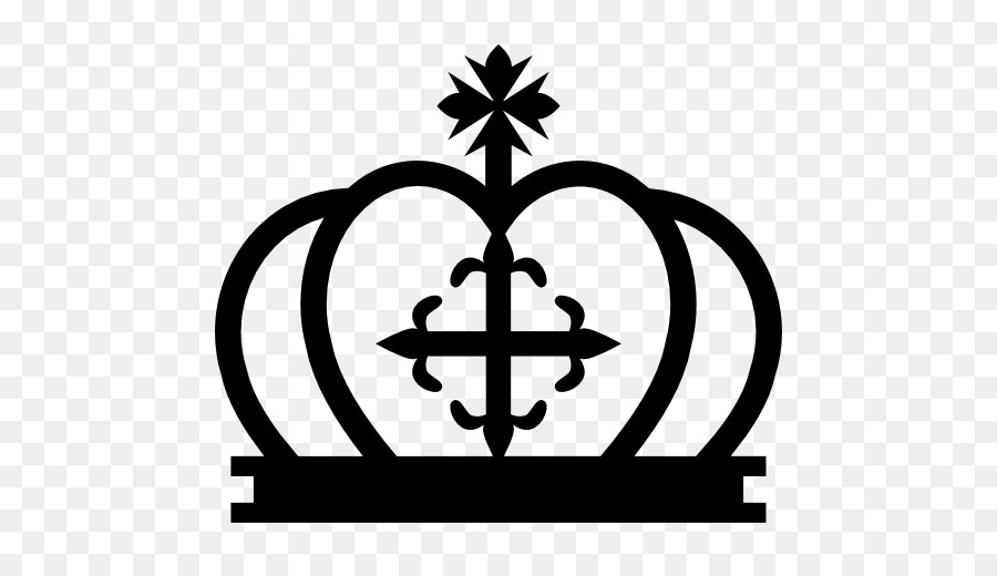 Cross And Crown Symbol Clip Art Crown Png Download 512512