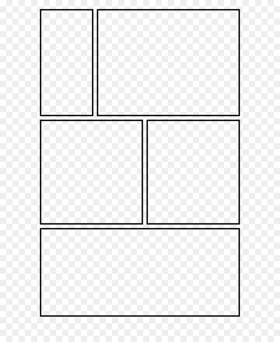 Cómic Cómic Cómic Plantilla de Panel - gráfico de la plantilla png ...
