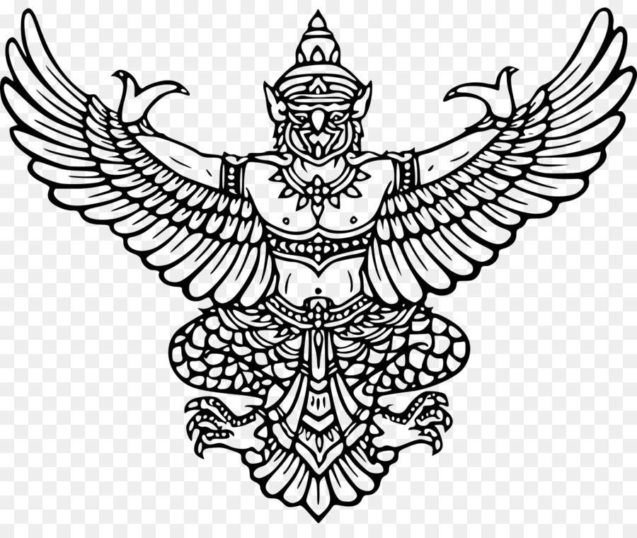 Emblem Of Thailand Garuda Coat Of Arms Elephant God Festival Png