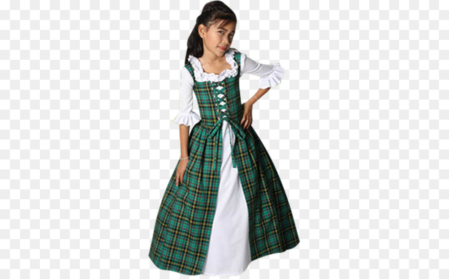 Highland dress Clothing Gown Tartan - dress png download - 555*555 ...