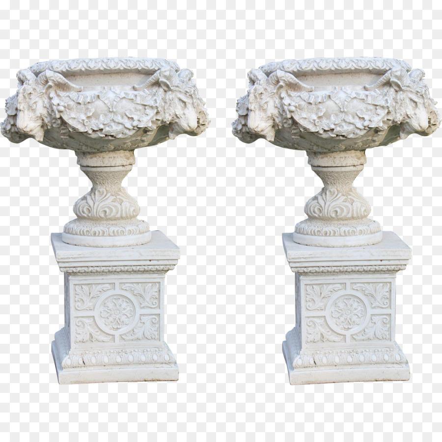Urn French Formal Garden Pedestal Garden Ornament   Vase