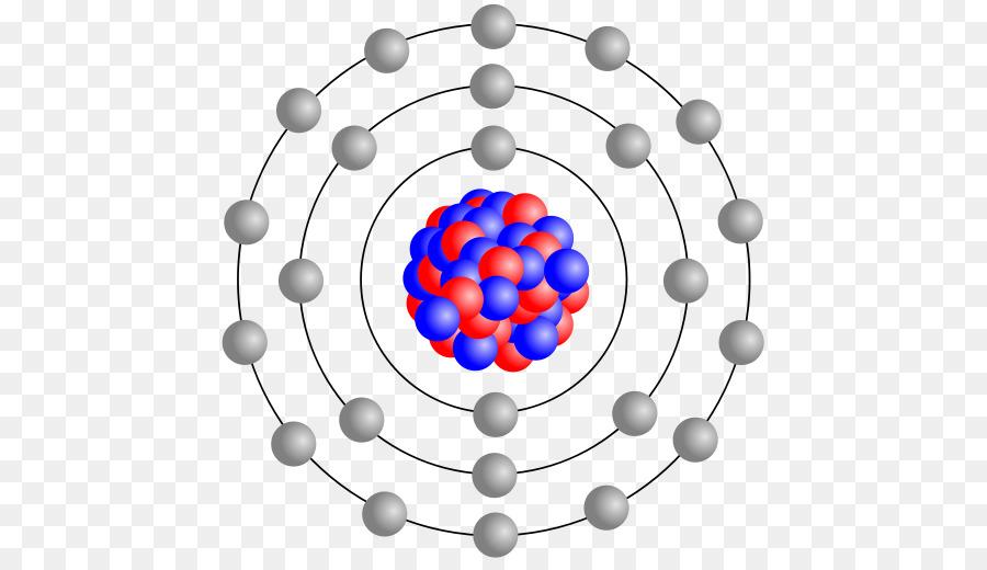 Bohr Model Atomic Nucleus Atomic Theory Iron Atomic Png Download