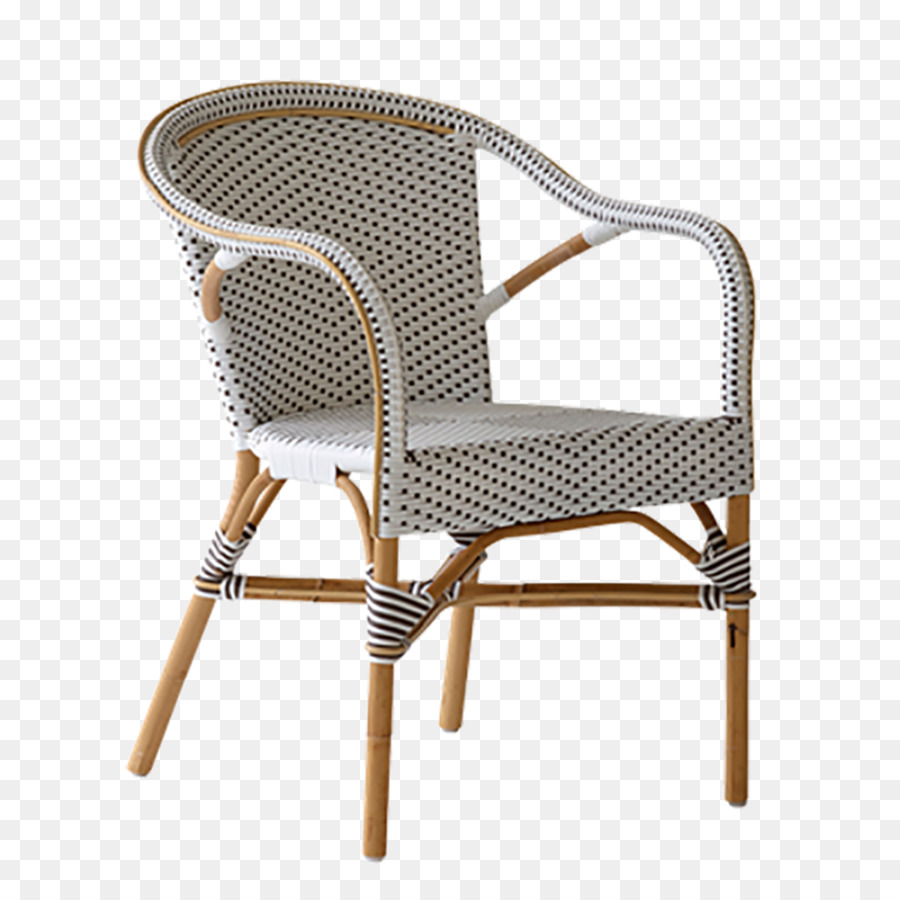 Bistro Madeleine Cafe Table Chair   Colored Rattan