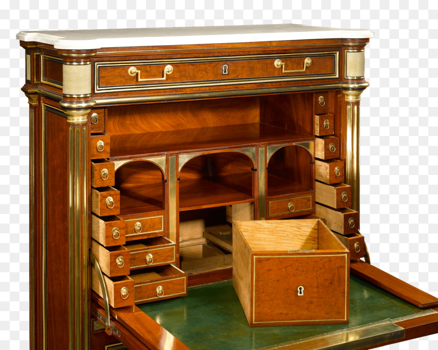 Secretary Desk Table Fall Front Wooton Antique Furniture
