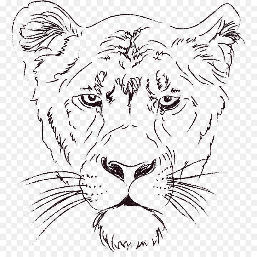 Lionhead conejo libro para Colorear Tigre - león Formatos De Archivo ...