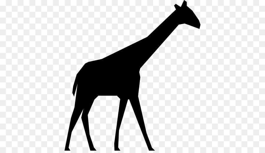 Giraffe Silhouette Computer Icons - giraffe png download - 512*512 ...