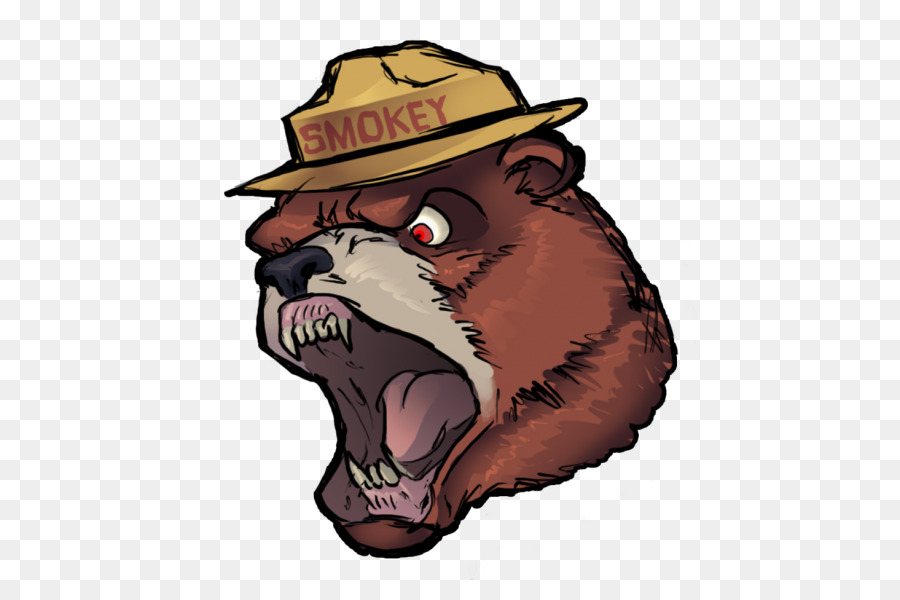 smokey bear grizzly bear clip art bear png download 502 600