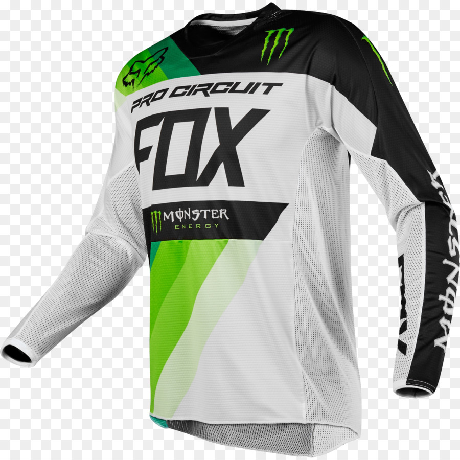 T-shirt Motocross Motorcycle Jersey Fox Racing - cycling jersey png download  - 1280 1280 - Free Transparent Tshirt png Download. 2eae888ec