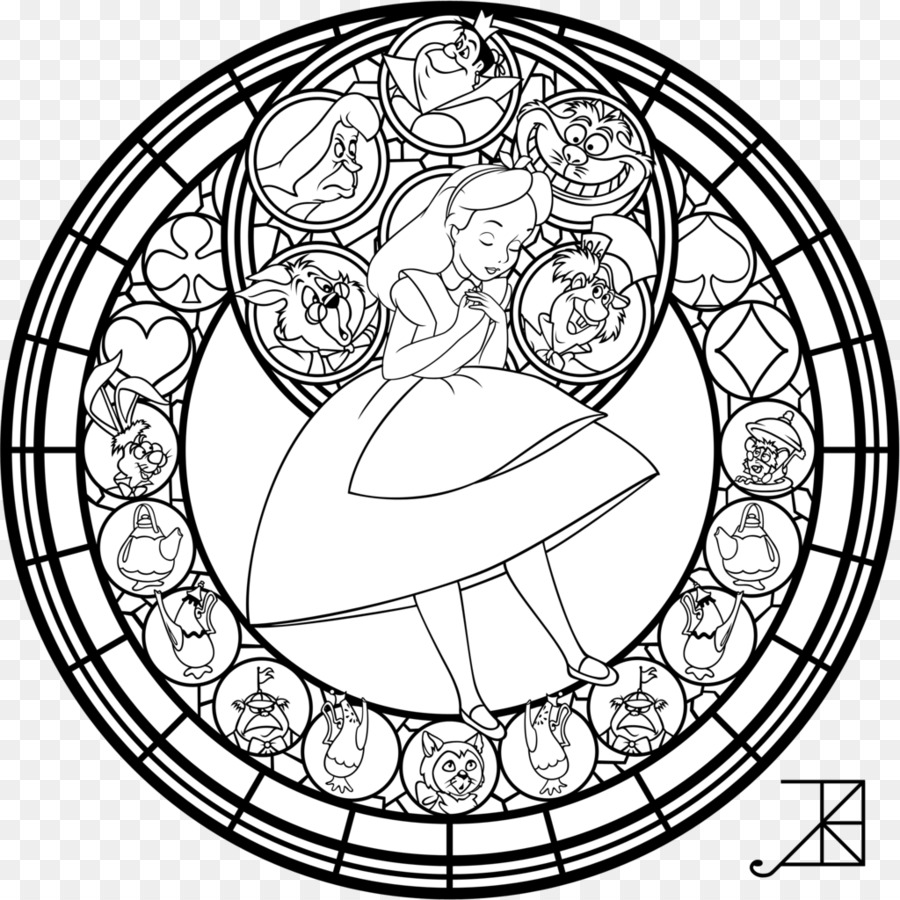Fenster Stained glass Coloring book - Farbe halo Färbung png ...