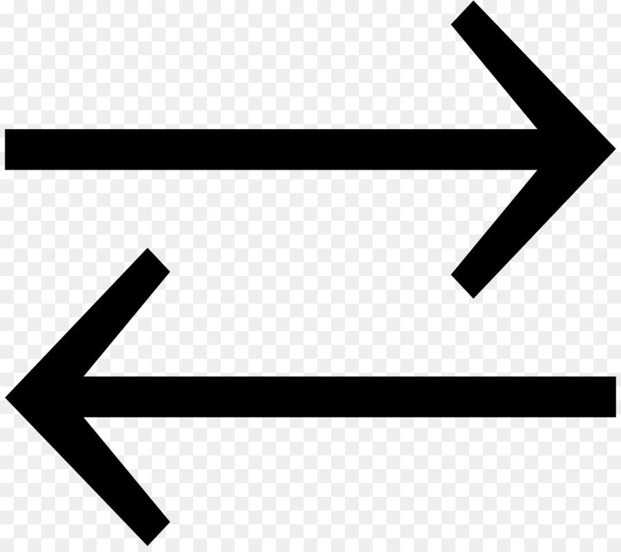 Equals Sign Arrow Symbol Chemical Equilibrium Arc Arrow Png
