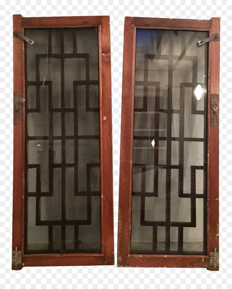 Window Shutter Door House Stained Glass Chinese Window Png
